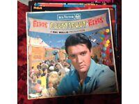 Elvis Presley vinyl collection