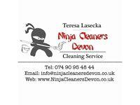 Ninja Cleaners Devon Exeter Torquay Paignton Newton Abbot