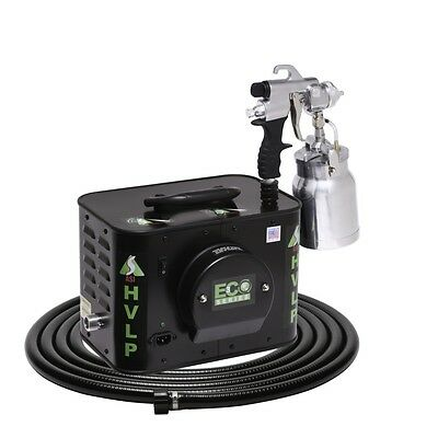 Apollo Eco-5 110v Five Stage Turbine Hvlp Spray Gun For Auto Woodworking