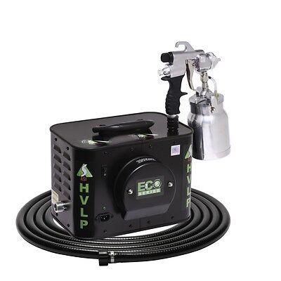 Apollo Eco-3 110v Three Stage Turbine Hvlp Spray Gun For Auto Or Woodworking