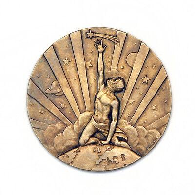 FAI GOLD SPACE MEDAL 1984, COSMONAUT V. SOLOVIEV, AWARD ID #499