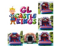 GL Castle Kings Bouncy Castle Hire Covering Birmingham & The Black Country. Bouncy Castles From £50