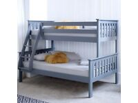 Sale offer on trio wooden bunk bed, get it today, place your order now.