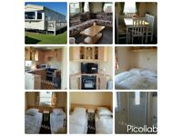For hire 3 bedroom 8 berth location Waterside Leisure Park Ingoldmells B14