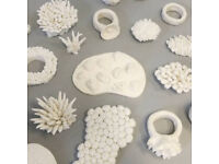 Porcelain in Jewellery Class - Beginners