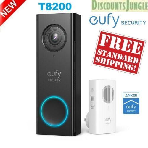 eufy T8200 Security Wi-Fi Video Doorbell 2K Resolution Real Time No Monthly Fees