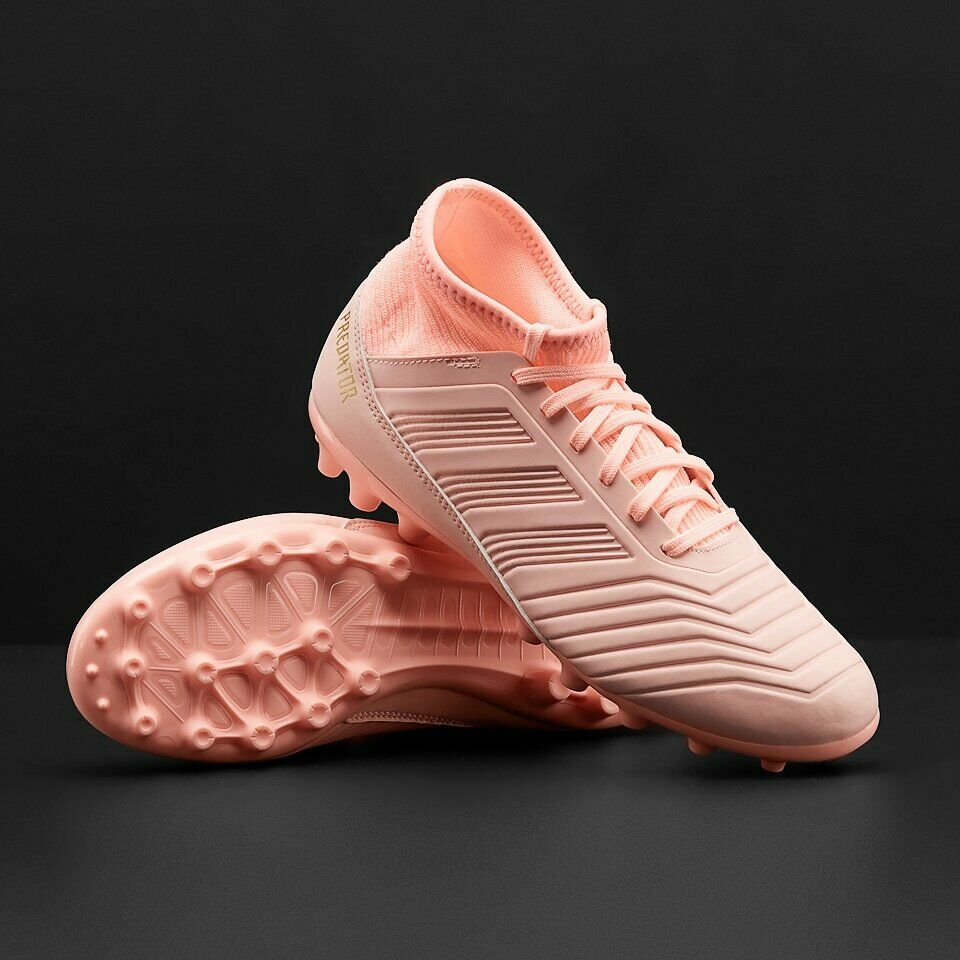 Chaussures de Football Adidas Enfant Predator 18.3 Ag Jr Rose Oracla D97874 Neuf