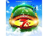 1 weekend ticket for bournemouth 7's festival