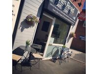 Busy Cafe for sale Stockport, small business. Take away food