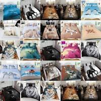 Homechoices Juego Funda Edredón 3d Animal Diseñado En Individual, Doble, Rey , -  - ebay.es