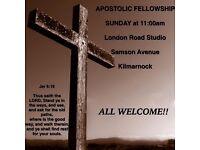 Apostolic Fellowship, Samson ave Kilmarnock