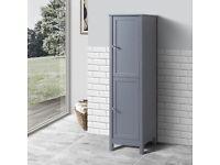 BATHROOM FURNITURE: BNIB traditionally designed tall boy storage unit (not flat pack) BARGAIN!!