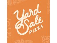 Front of house Star for Yard Sale Pizza, Clapton. Starting on £8ph!