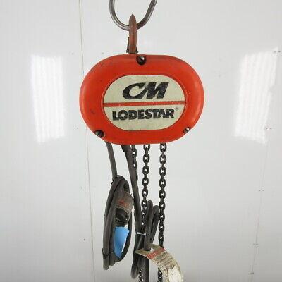 Cm Lodestar Model F 12 Ton Electric Chain Hoist 10 Lift 16fpm 208-230460v 3ph
