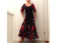 Ballroom dance dress size 8