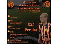 Football Coaching Training Camp - October Half Term Activity Halloween (not team boots shirt nets)