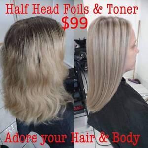 Hair Foils In Brisbane Region QLD