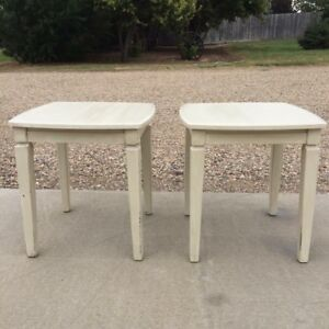 Set of Large End Tables