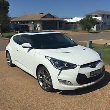 Hyundai Veloster FS MY13 + white 6 speed auto dual clutch coupe Kirwan Townsville Surrounds Preview