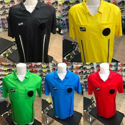 Soccer Referee official Jersey Sports shirt eocomy blue green yellow black red (Official Sports Soccer Referee)