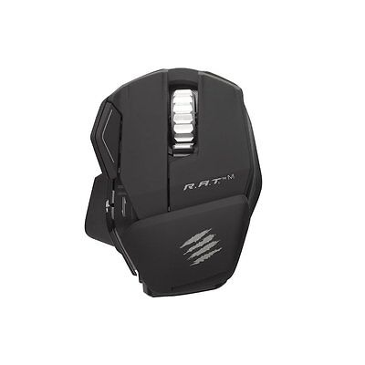 Mad Catz R.A.T. M Wireless Gaming Mouse-PC, Mac & Mobile Devices- Matte Black