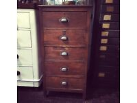 Antique tallboy chest of drawers SOLD