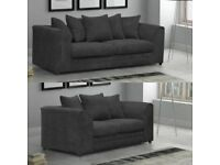COMES WITH 1 YEAR WARRANTY NEW BYRON JUMBO CORDED SOFA RANGE NOW IN STOCK