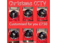 Santa / Elf CCTV Camera
