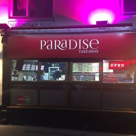 Takeaway and fish chip shop for sale