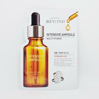 Beyond Intensive Ampoule Mask Multi Vitamin 22ml x 5pcs Brightens Up K-Beauty