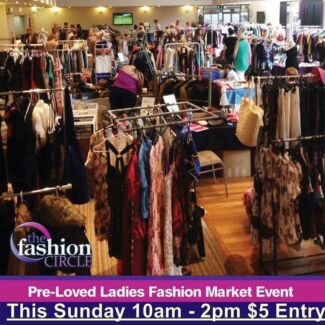 Preloved Ladies Fashion Market Event at Penrith - The Fashion Circle
