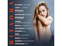 Rita Ora tickets, Leeds, 12th May