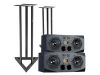 Adam A77X Studio Monitors (Pair w/Stands)
