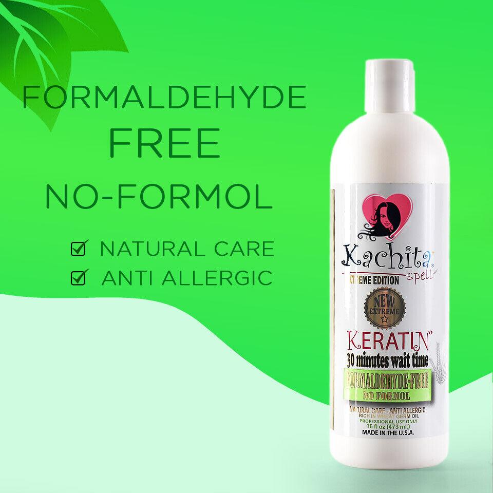 Brazilian Keratin Treatment Formaldehyde FREE Antiallergic F