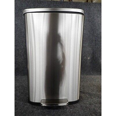 SoftStep PC13RSS Stainless Steel Step Trash Can, 13.2 Gallon (50L)*