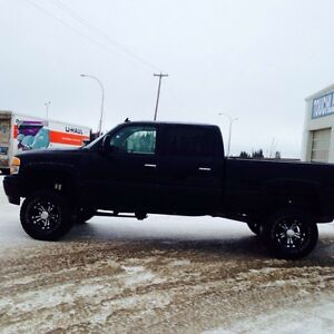 2007 lbz duramax lifted