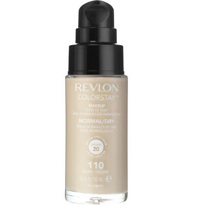 Revlon Colorstay Makeup Foundation for Normal To Dry Skin, #110 Ivory