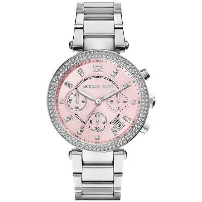 Michael Kors Silver Stainless-Steel Quartz Fashion MK6105 Women's Watch