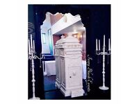 Hire - White Wedding Postbox - £25 - Manchester