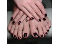 Nail home manicure penticure gel agrylic shellac hair removal eyebrows everything.