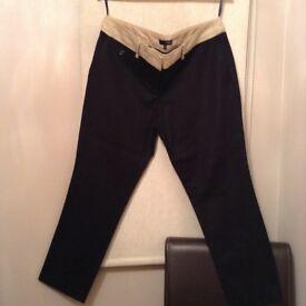 NEXT Black Trousers - size 16 short