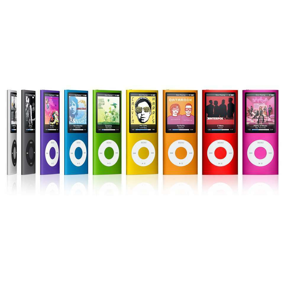 Ipod - Apple iPod Nano 4th Generation 8GB 16GB - Used - Tested - All Colors - Free Ship