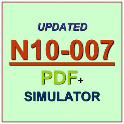Comptia Network  Certification Net Plus Test N10 007 Exam Qa Pdf Simulator