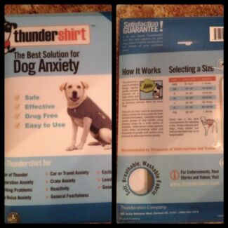 Thundershirts - the best solution for dog anxiety Armidale 2350 Armidale City Preview