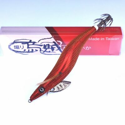 RUI SQUID JIG FIELD TESTERS SPECIAL EDITION PORTSEA RED SIZE 4.0 EGI LURE