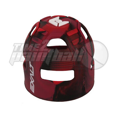 Exalt Tank Grip Red Swirl **FREE SHIPPING** Paintball Butt Cover