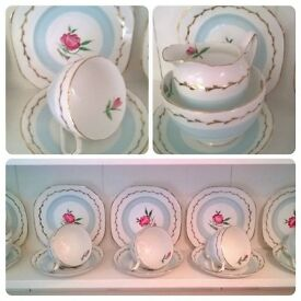 Vintage and shabby chic collectibles and display pieces