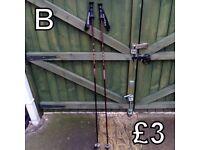 Walking Poles (B) - £3 for pair