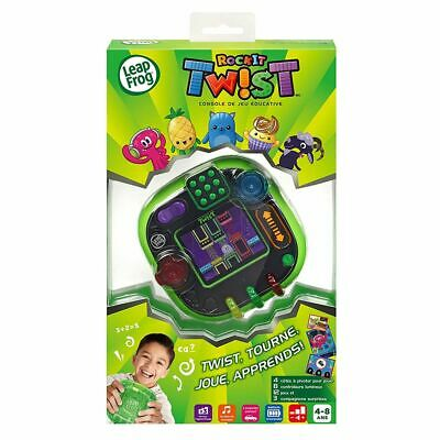 LeapFrog Rockit Twist Handheld Learning Game System - Green (French Version)