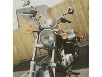 125 Suzuki Black Marauder
